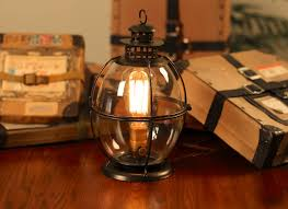 Edison Lamp Vintage Lantern Table Rustic By Dancordero Industrial Floor Good Lighting With Natural Beauty Lamps