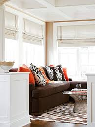 Colors For A Small Living Room by Ways To Decorate With A Brown Sofa