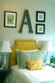 Mens Bedroom Decor Traditional With Nailhead Trim Wall Letter