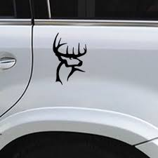 Buck Decal Stickers Gun Bow Hunting Deer Truck Window Car Laptop ...