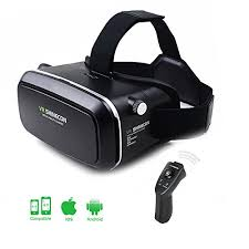 ULTRICS VR Headset 3D Virtual Reality Goggles VR Box 360°Glasses