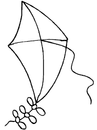 Kite Coloring Pages For Toddlers