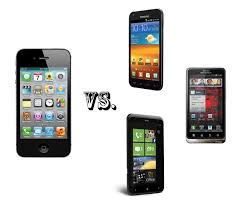 iPhone 4S vs the smartphone elite Galaxy S II Bionic and Titan