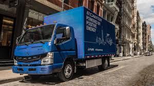 100 Penske Trucks Fleet Of Fuso ECanter Electric Delivery Finally Hit The Road