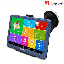 100 Gps Systems For Trucks 0 Reviews Junsun D300 7 Inch Car GPS Navigation Android Bluetooth WIFI Truck Vehicle Gps