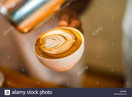 How To Make Latte Art Coffee Heart Symbol