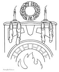 Christmas Wreath Coloring Page 71