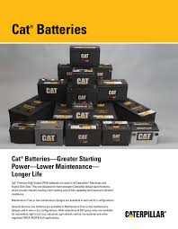 100 Used Truck Batteries Cat