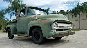 Solid Short Bed: 1956 Ford F100