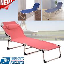 Folding Chaise Lounge Chair Patio Outdoor Pool Sun Beach Lawn ... Folding Patio Lounge Chair Brickandwillowco Portable 2in1 Folding Chair Recliner Sleeping Loung Outdoor Sun Loungers Beach Lounge Chairs Adjustable Garden Deck Psychedelic Metal Plastic Cane Recling Foldable Zero Gravity With Pillow Black Sunnydaze Rocking Chaise Headrest Outdoor W Shade Canopy Cup Holder Camping Fishing Arm Rest Amazoncom Set Of 2 Patio
