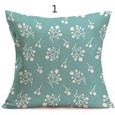 taie coussin canapé topmountain fleur géométrique vintage taie d oreiller en de