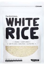 Forbidden Organic White Rice 500g