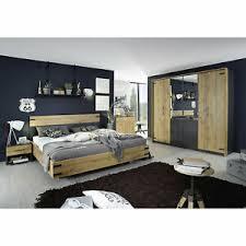 schlafzimmer komplett 180x200 nevada 4tlg eiche wotan grau