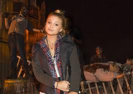 Universal Halloween Horror Nights 2014 Theme by Olivia Holt At Halloween Horror Nights 2014 In Universal City