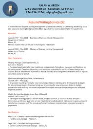 Nursing Program Coordinator Resume Sample