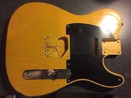 USACG USA Custom Guitars Fender Telecaster Body One Piece Ash Nitro Relic Light