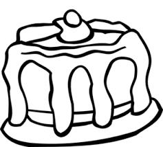 Cake With Cherry Clip Art