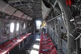 100 Aircraft Carrier Interior SAN DIEGO CALIFORNIA DEC 1 2017 Of CH46 Sea Knight