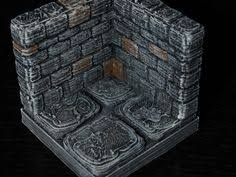3d Printed Dungeon Tiles by Download Caverns Dungeon Tiles Wall Section By Matthew Barker