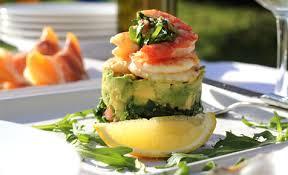 modern cuisine recipes prawn and avocado stacks favorite baking stuff