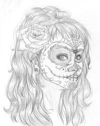 Coloring Page Day Of The Dead Holidays And Special Occasions 50