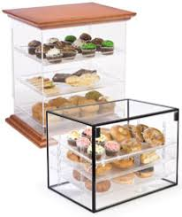 Acrylic Pastry Bakery Display Cases