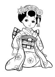Ladies Coloring Pages Pretty Girls For Preschool
