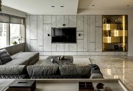 Wall Units TV Idea By Love Design Decorating Around A Mounted Tv