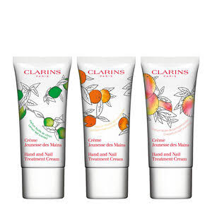 Clarins Hand and Nail Treatment Cream Trio