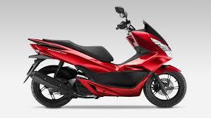 2015 Honda Pcx150 Usa Red Side