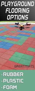 take a look at these 2x2 foot interlocking playground tiles they