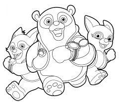 Ipad Coloring Disney Jr Pages Online New At