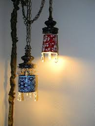 swag hanging light fixtures wonderful great rustic ceiling for