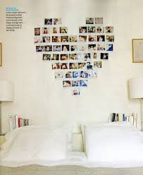 Cute Idea Collage Polaroids Or Photos In A Heart Shape Above The Bed Love This For Kids Room