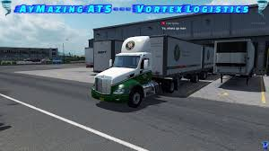 100 Old Dominion Trucking Company Freight Line Drive American Truck Simulator