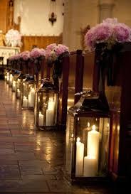 Wedding Church Pew Decorations Image Source