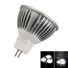 mr16 3w 240 lumen 6000k white led light bulb 12v tmart