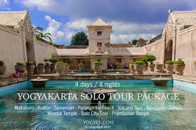 YOGYAKARTA SOLO TOUR PACKAGE 4 Days 3 Night Code YY03