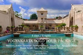 YOGYAKARTA SOLO TOUR PACKAGE 4 Days 3 Night Code YY03