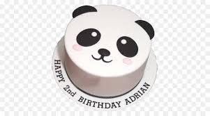geburtstag kuchen zucker kuchen sahne torten panda kuchen