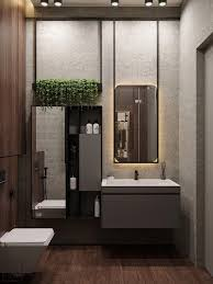 moderndesignbathrooms holzlamellenwand