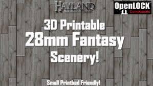 3d Dungeon Tiles Kickstarter by 3d Printable Terrain And Miniatures On Kickstarter U2013 December 2017