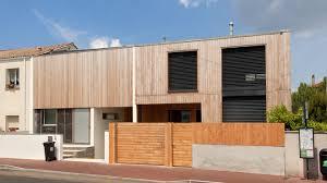 a bordeaux une maison de ville en bois contemporaine et