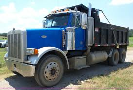 100 Peterbilt Tri Axle Dump Trucks For Sale 1998 378 Dump Truck Item BZ9608 SOLD August 2
