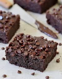 gesunde zucchini brownies