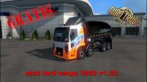 Ets2 Ford Cargo 1932 Frank Douglas - YouTube