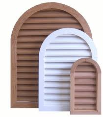 Decorative Gable Vents Products by Quality Wood And Pvc Gable Vents