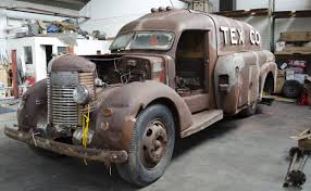 A New Restoration Project - 1938 Texaco Tanker Truck   The H.A.M.B. Diamond T Trucks For Sale Cars For Sale Antique Automobile Club Hemmings Find Of The Day 1949 201 Pickup Daily 1947 Diamond Coe Youtube Classic 6x6 Wrecker Tow Trucks Recovery Boyleracinghdqstruck2 Historic Indianapolis All Things 6 You Need To Know About The Ignition Transport Texacos Futuristic Streamlined Doodlebug Tank Old Motor Towing Artillery Wwii Armor Pinterest Wwii World Sia Flashback 1933 Texaco Bel Gedde Early 1940s Truck Pulling A Large Load South Yorkshire Welder Up On Twitter Timber Busting Truck Trends Best 2016 Sema Show