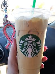 Venti Iced Coffee With Cream And Sugar Free Vanilla