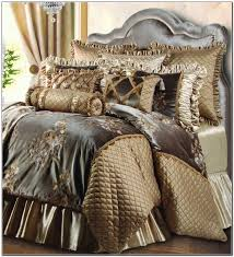 Amazing Of Luxury Bedding Ensembles In Champagne Within Best Design 19